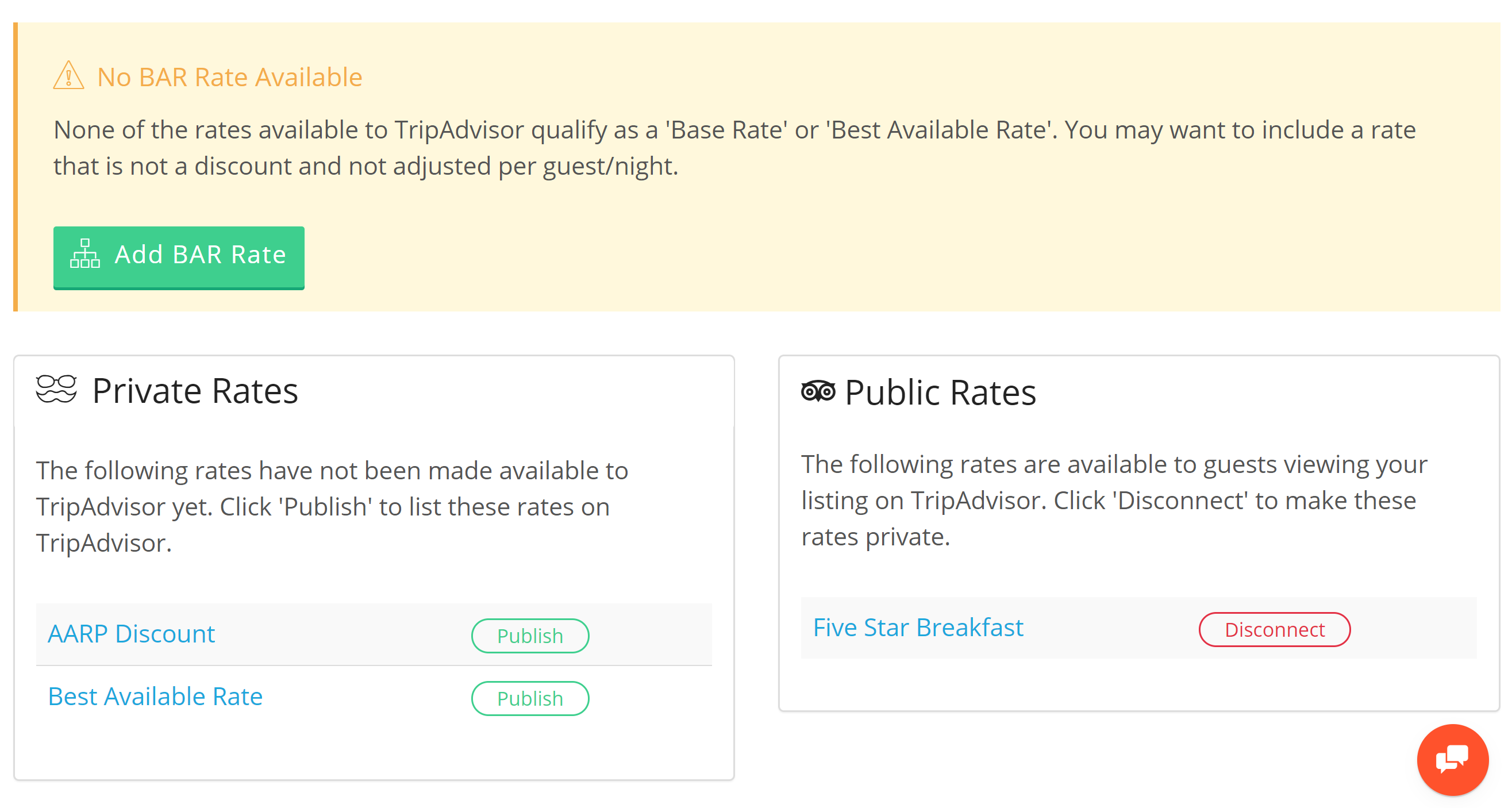 Hotel TripAdvisor TripConnect              We are proud to be a TripAdvisor TripConnect Premium Partner. We provide a simple API level connection that allows our hotel partners to manage their rooms, rates, and meta content automatically on this network.