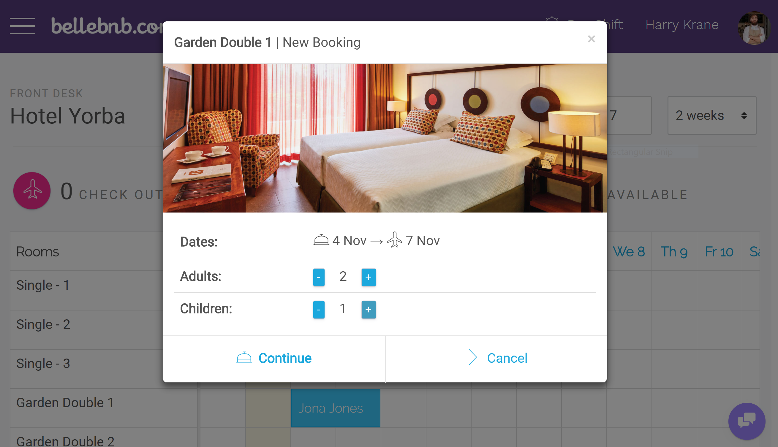 Drag-n-Drop Hotel Calendar with Smart Reservations